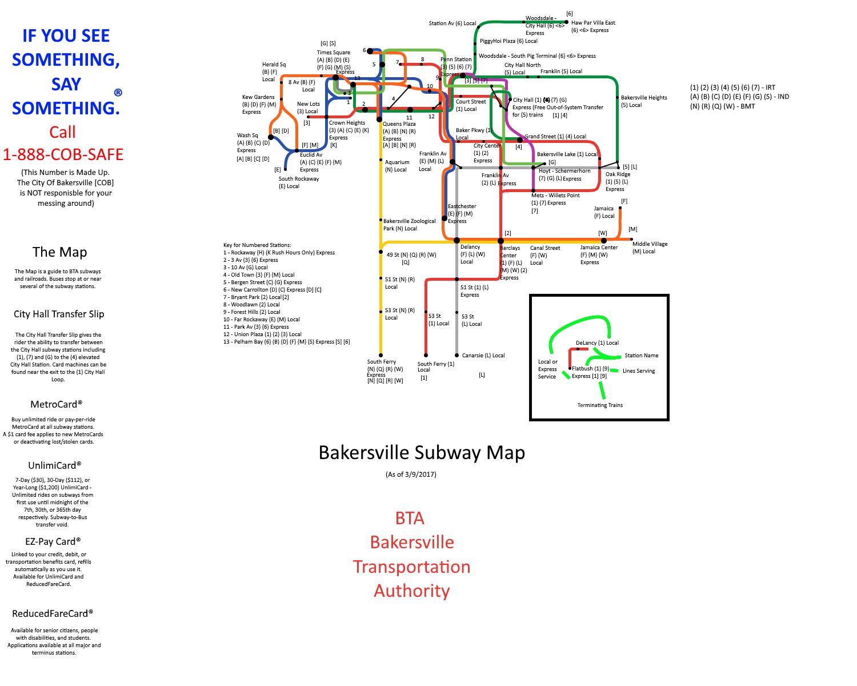 Bakersville IRT - Minecart Rapid Transit Wiki