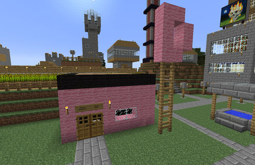 Dave's Doughnuts - Minecart Rapid Transit Wiki